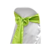 Noeud de chaise satin vert anis  Location  1.00€