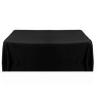Location nappe rectangle noire
