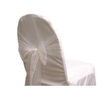 Noeud de chaise organza blanc - NSE Location  0.50€