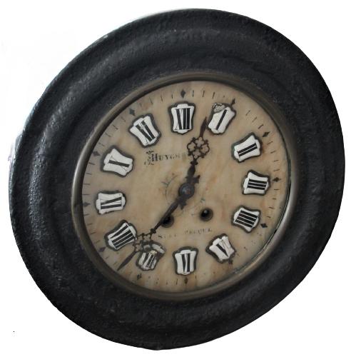 Ancienne horloge - diamètre 38cm