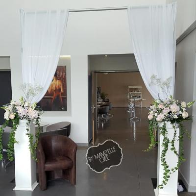 Arche d'entrée à la Villa blanche