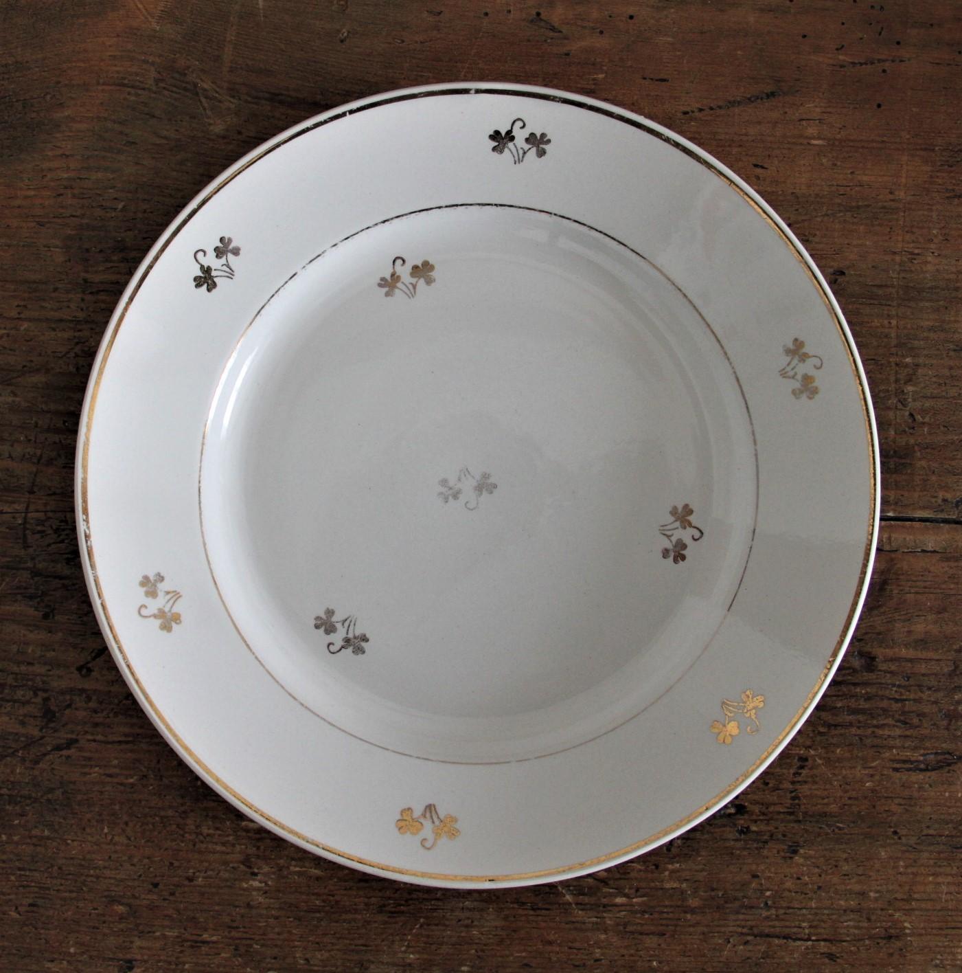 Assiette Céranord porcelaine opaque - D22.5cm