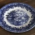 Assiette plate- Country Style