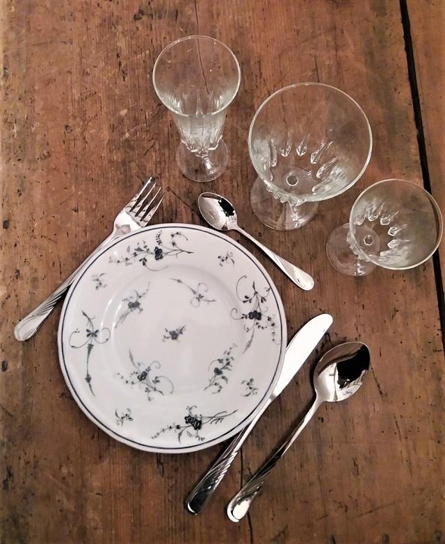 Location assiette vintage - 1.50€ TTC