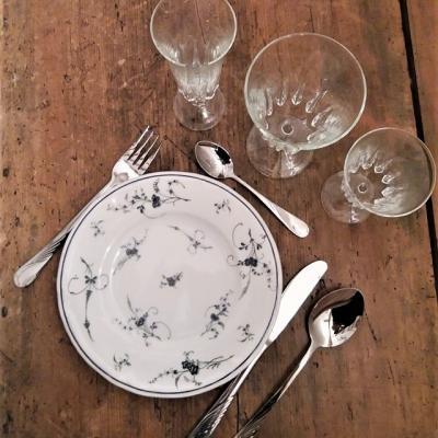 Location assiette vintage - 0.60€ TTC