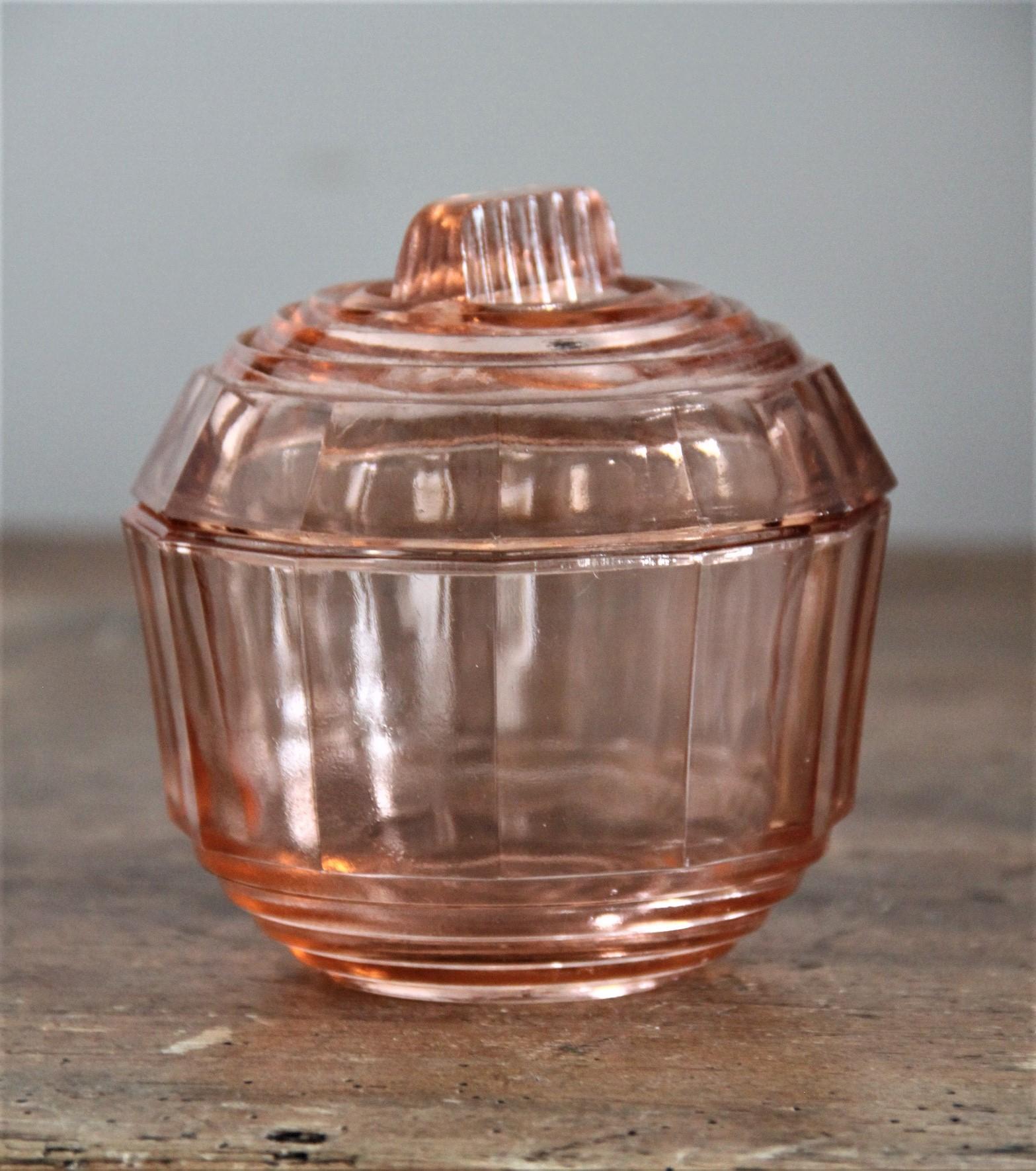 Bonbonnière N°54 - rose - H8cm x D10cm