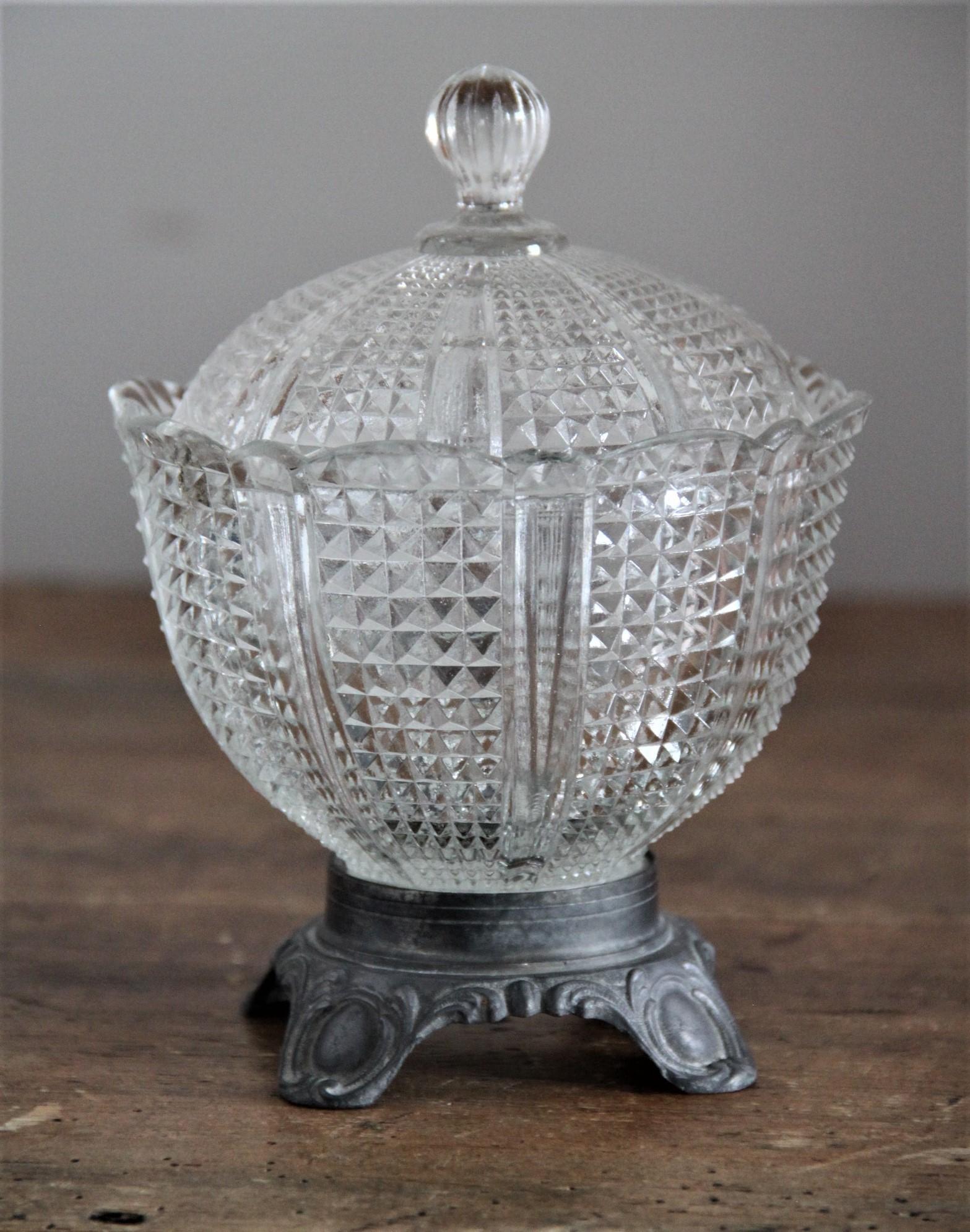 Bonbonnière N°52 - vintage - H17 - D12cm