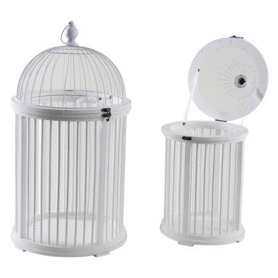 Cage ronde métal et bois blanc  Location  10.00€