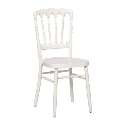 Chaise Napoléon bois blanc - NSE Location  7.00€