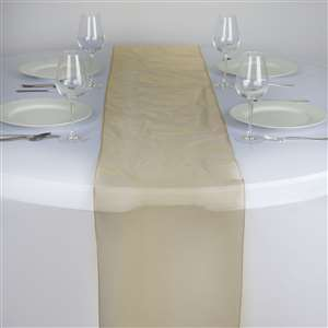 Chemin de table organza or - NSE Location  2.00€