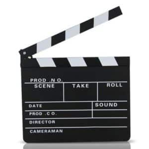 Location Clap de Cinéma -  5.00€ TTC