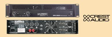 Ampli Crest CPX 2600  Location  35.00€