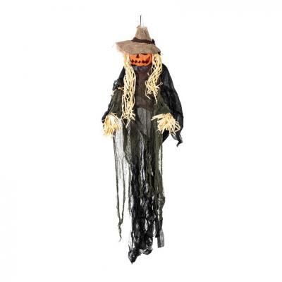 Epouvantail noir 180cm