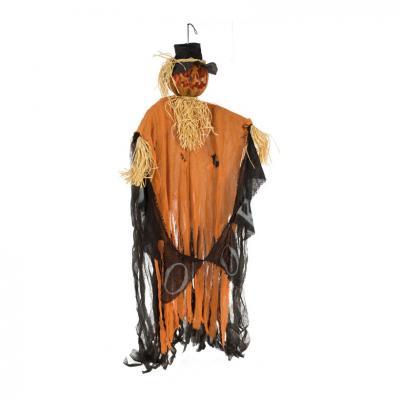 Epouvantail orange taille 180cm