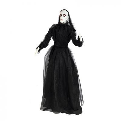 Fantôme noir masque blanc taille 167cm
