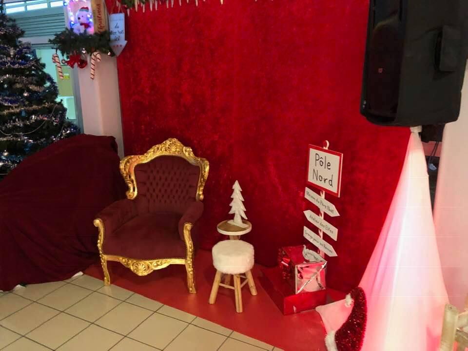 Fauteuil du Père Noël - NSE Location 96,00€