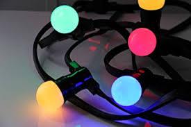 Guirlande lumineuse multicolor type guinguette - Location  12.00€