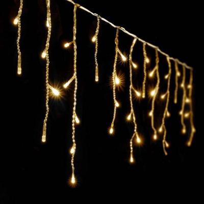 Guirlande stalactite 10M blanc chaud 60 descentes