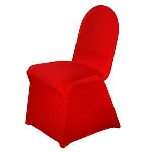 Housse de chaise Rouge NSE Location  2.00€