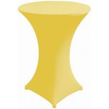 Housse de mange debout jaune - NSE Location