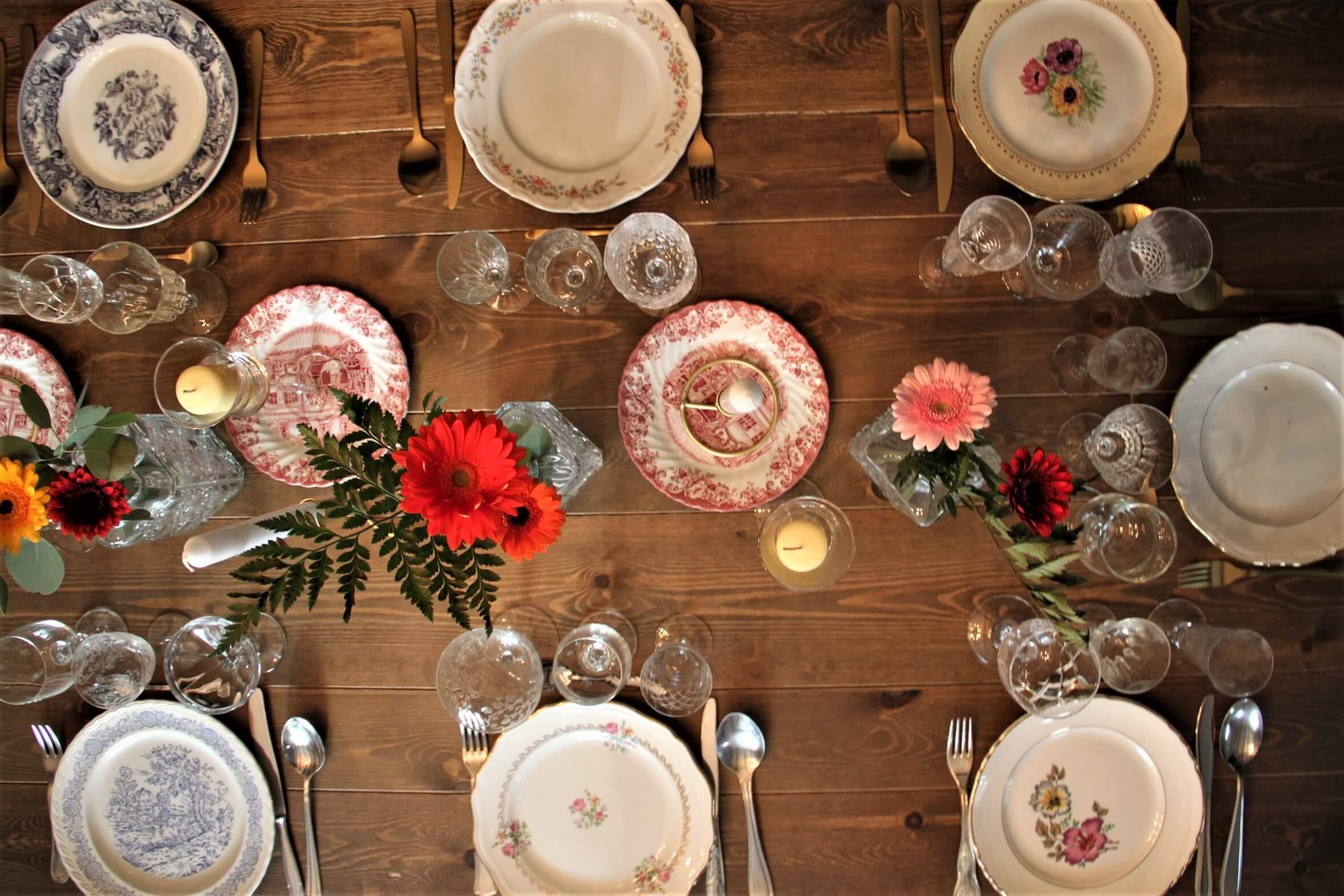 Inspiration table mariage champêtre