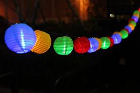 Location lampions à leds multicolor - 8.00€