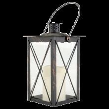 Lanterne noire à led NSE Location  3.00€