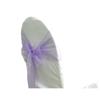 Noeud de chaise organza parme - NSE Location 0,50€