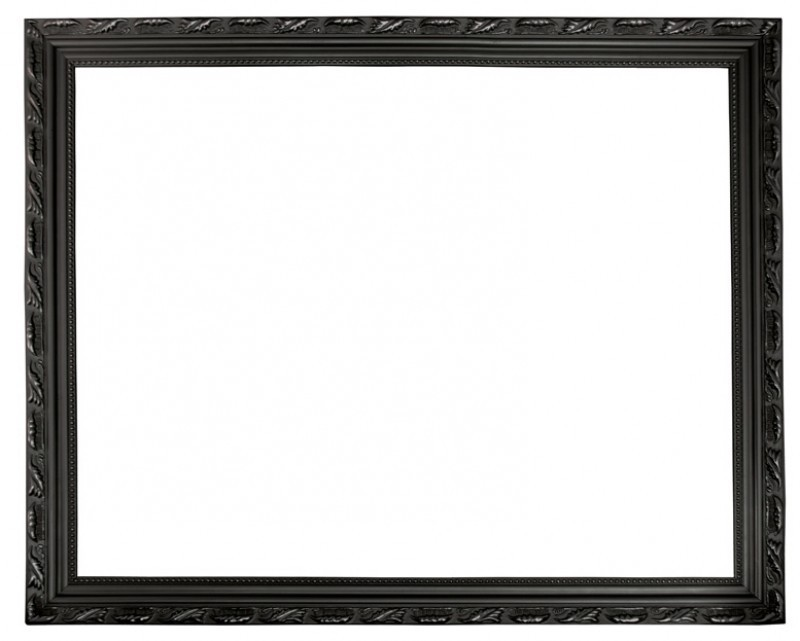 Location cadre photo moulure noir - 3.00€