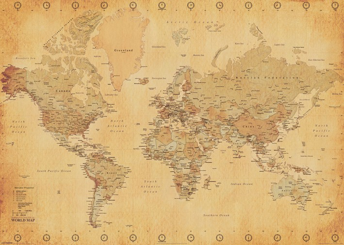 Location carte du monde - 6.00€ Tarif weekend