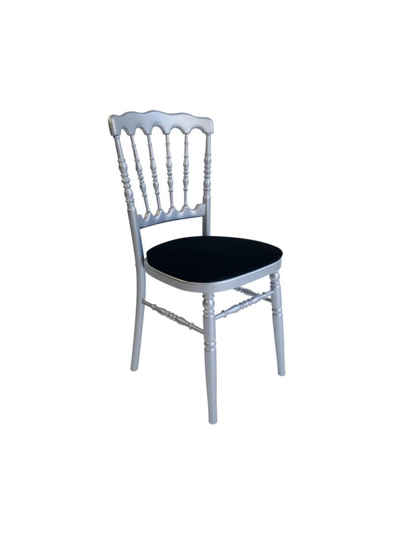 Location chaise Napoléon gris argent  8.00€