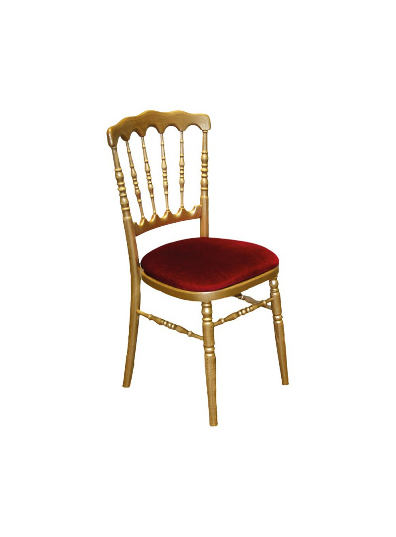 Location chaise Napoléon or   8.00€