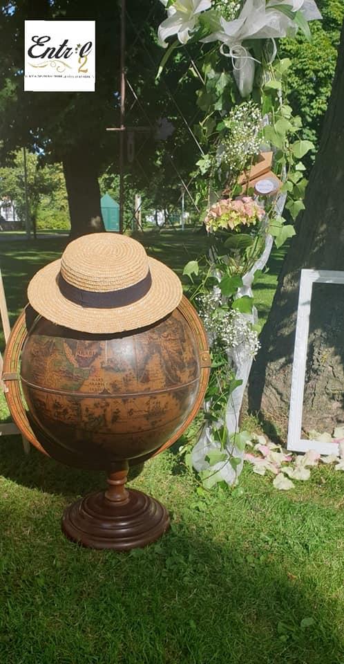 Location mappemonde pour urne - 10.00€ Tarif weekend