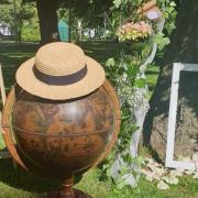 Location mappemonde pour urne