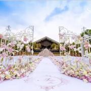 Location portail blanc pour mariage - 300.00€