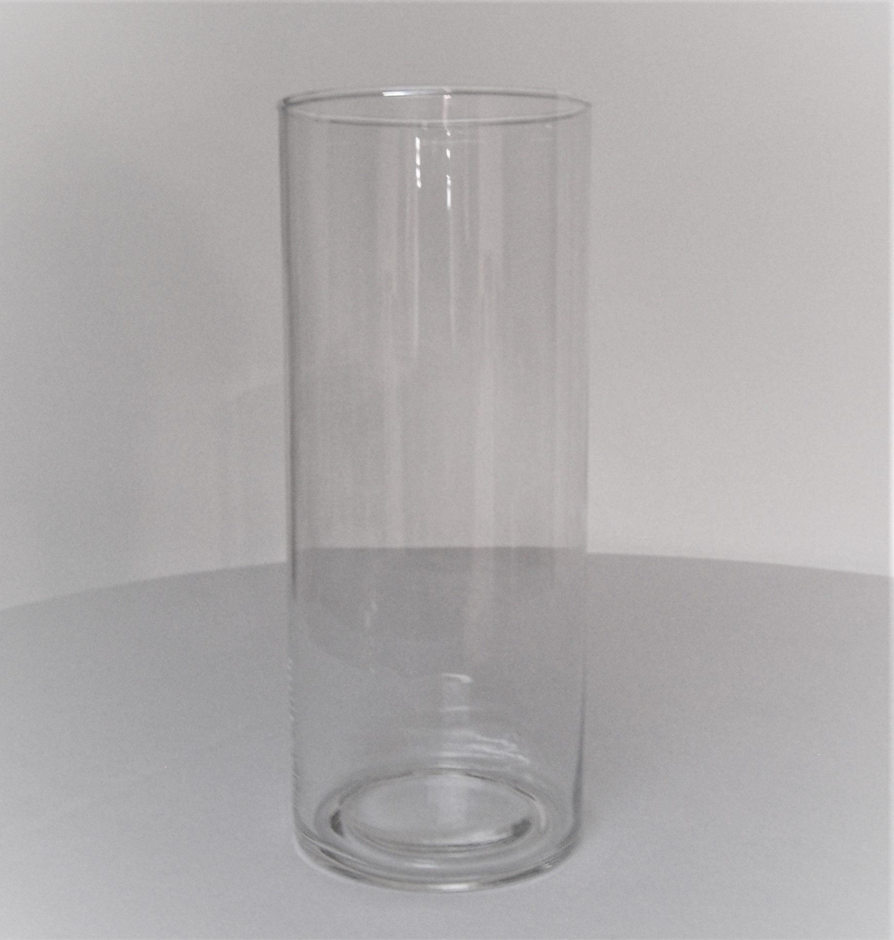 Location vase cylindrique H25 - 2.60€ tarif weekend
