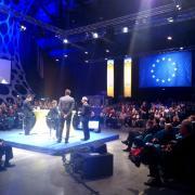 Mange debout Dunkerque Kursaal Commission Européenne