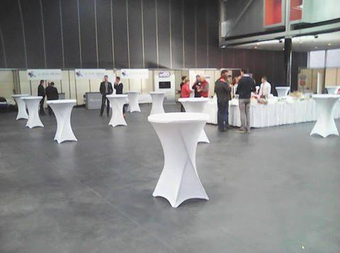 Mange-debout housse blanche Kursaal