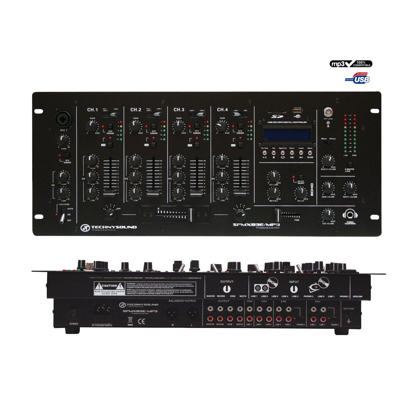 Table de Mixage USB/MP3  Location  10.00€