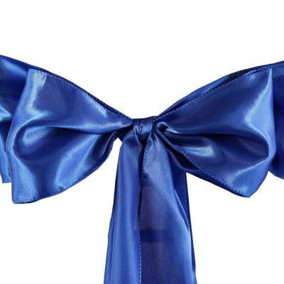 Satin bleu roi  Location  1,00€