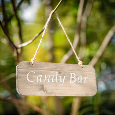 Pancarte Candy Bar - NSE Location  1.00€