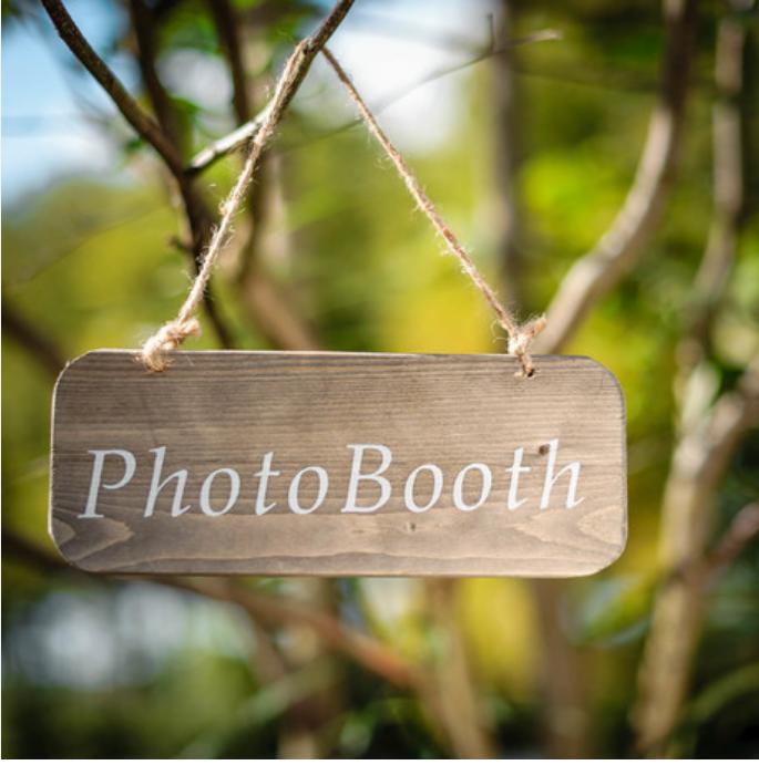Location Pancarte Photo Booth - 1.20€ tarif weekend