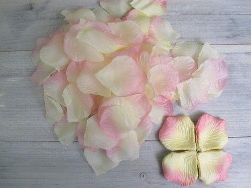 Vente Pétales de roses jaune et rose
