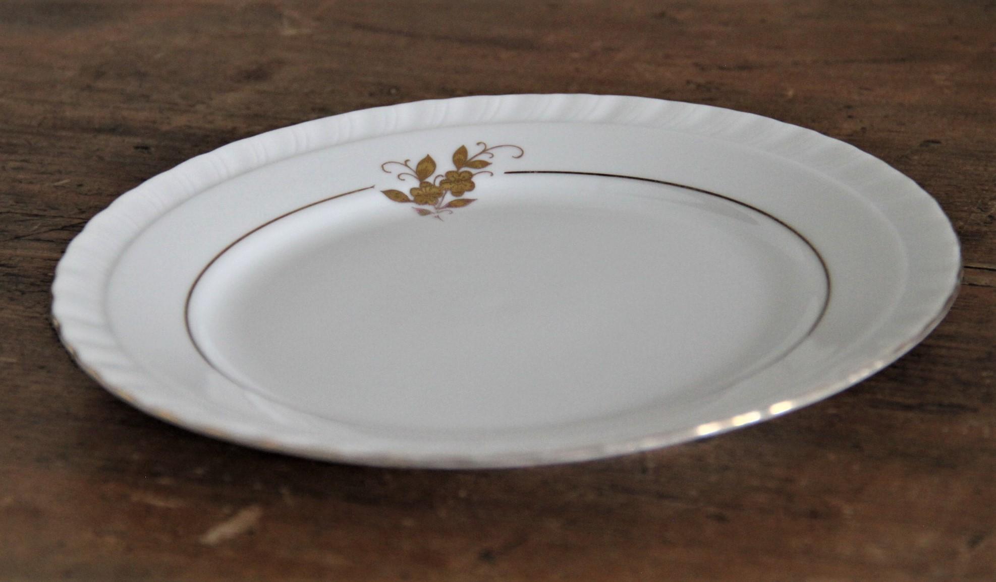 Petite assiette - Jaeger Bavaria - liseré or D20cm