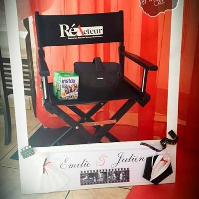 Location chaise metteur en scène - NSE Location  15,00€