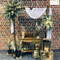 Photobooth thème mariage nature