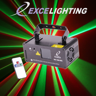 Laser Excelighting RGY200 DMX - NSE Location  20.00€