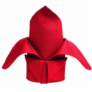 Serviette de table rouge - NSE Location  0.75€
