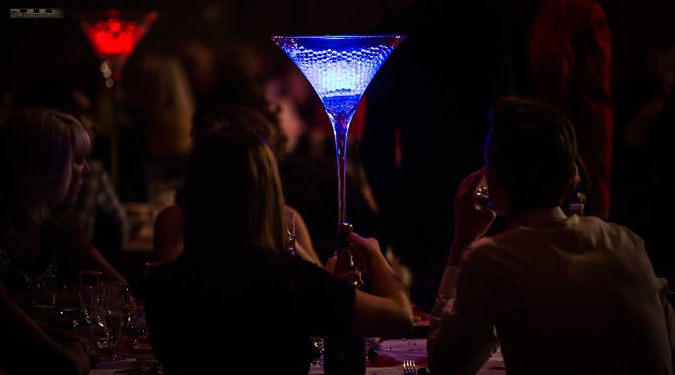 Eclairage vase Martini NSE Location