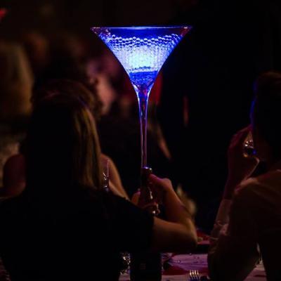 Eclairage pour vase et Perles d'eau